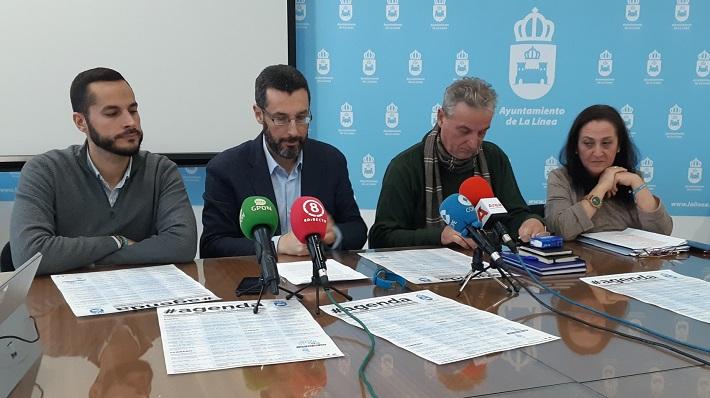 Mario Fernández, Juan Franco, Momo Valle y Encarnación Sánchez