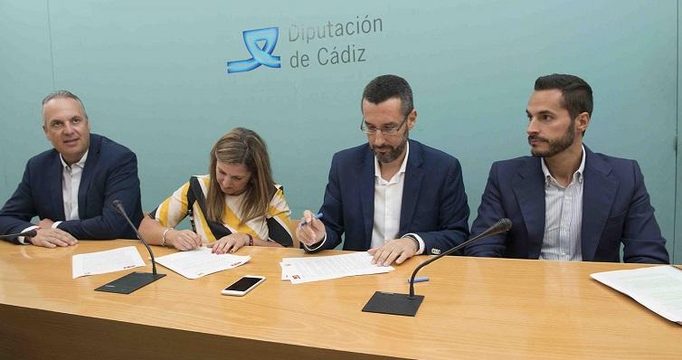 El acuerdo se firmó este pasado martes en Cádiz