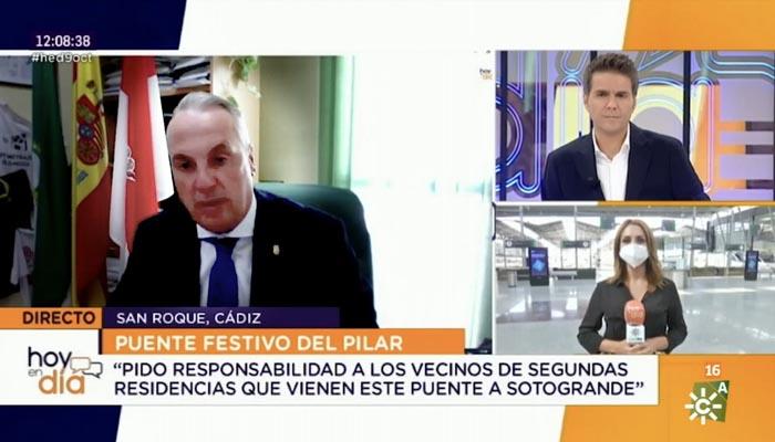 Ruiz Boix ha hecho su petición en Canal Sur TV
