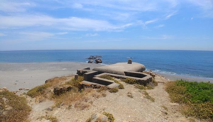 La costa del municipio de San Roque está repleta de búnkeres