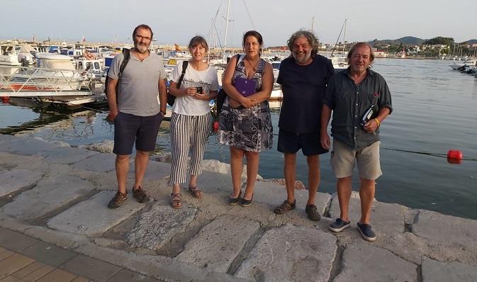 Miembros de la Plataforma 'Salvemos Valdevaqueros'