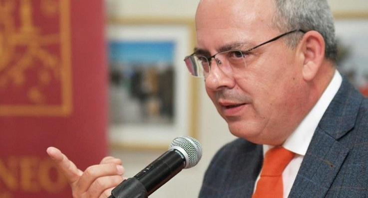 Javier Sánchez Rojas, presidente de la CEC