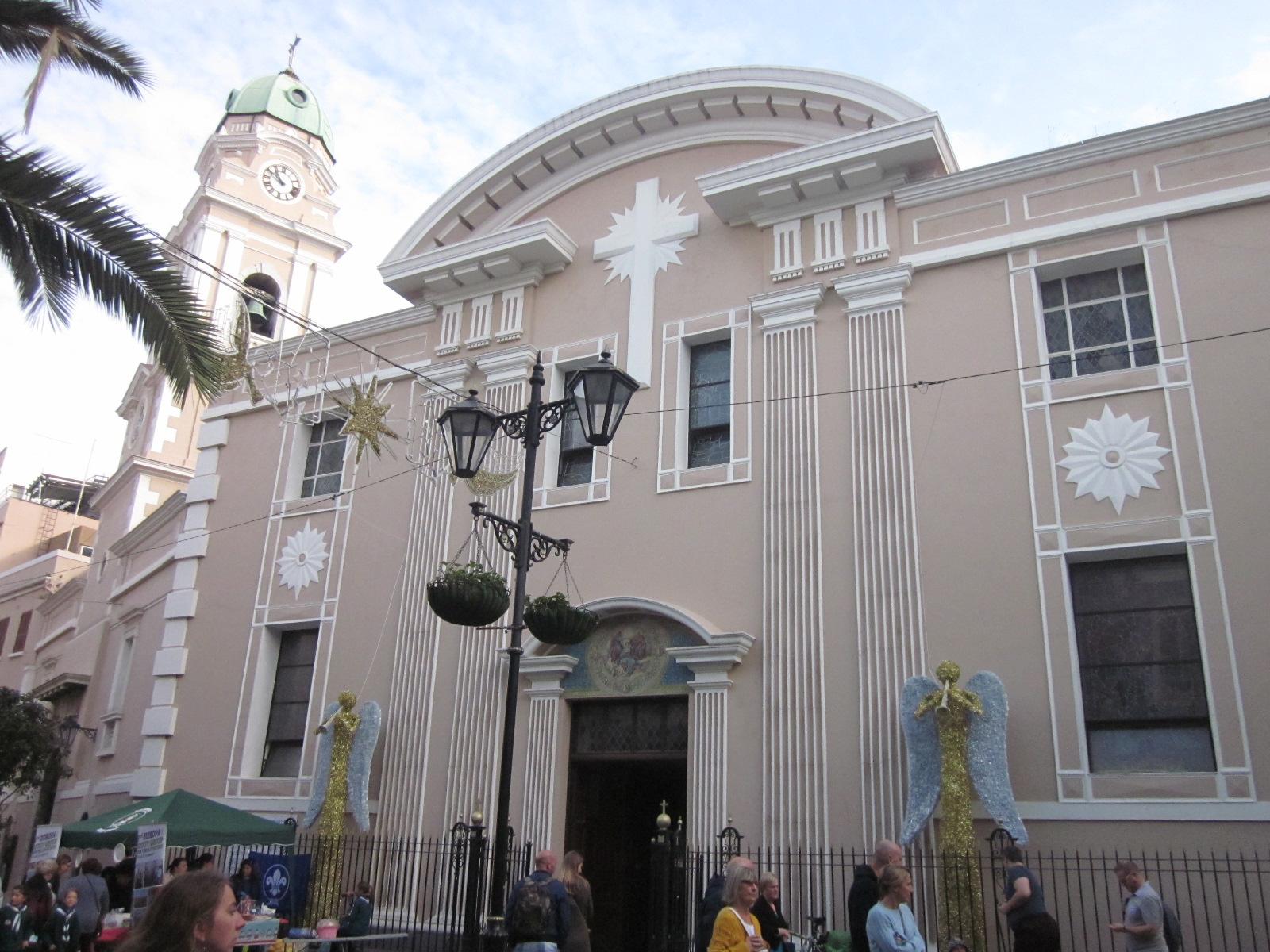 Santa María la Coronada construida sobre lo que fue una mezquita