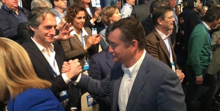 El ministro de Fomento y el delegado del Gobierno en Andalucía