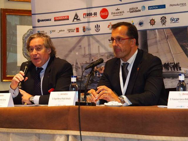 El secretario general de Pesca, a la izquierda, en una imagen de archivo