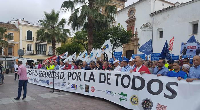 """Manifestación de la plataforma """"Por Tu Seguridad, por la de Todos"""""""
