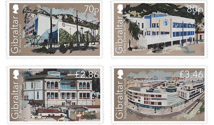 Los sellos conmemorativos