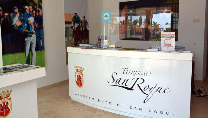 Una de las oficinas de turismo de San Roque