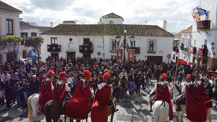 Imagen de archivo de una de las procesiones sanroqueñas