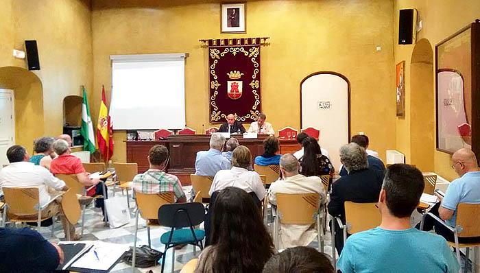 Imagen del seminario del año pasado en el Palacio de los Gobernadores. Foto LR