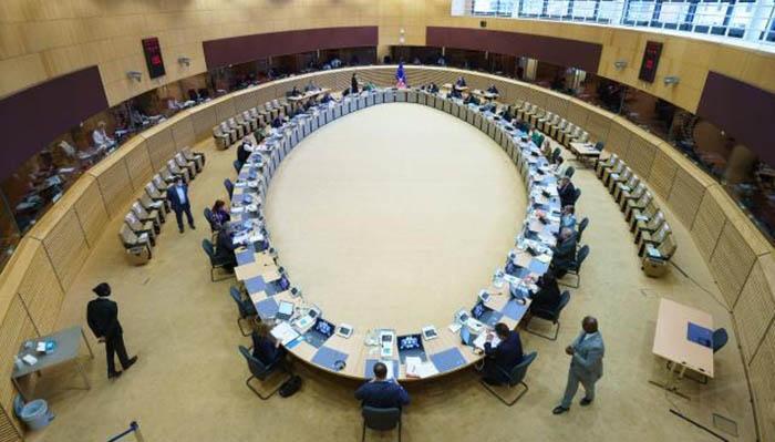Sesión de la Comisión Europea. Foto Christophe Licoppe; Unión Europea
