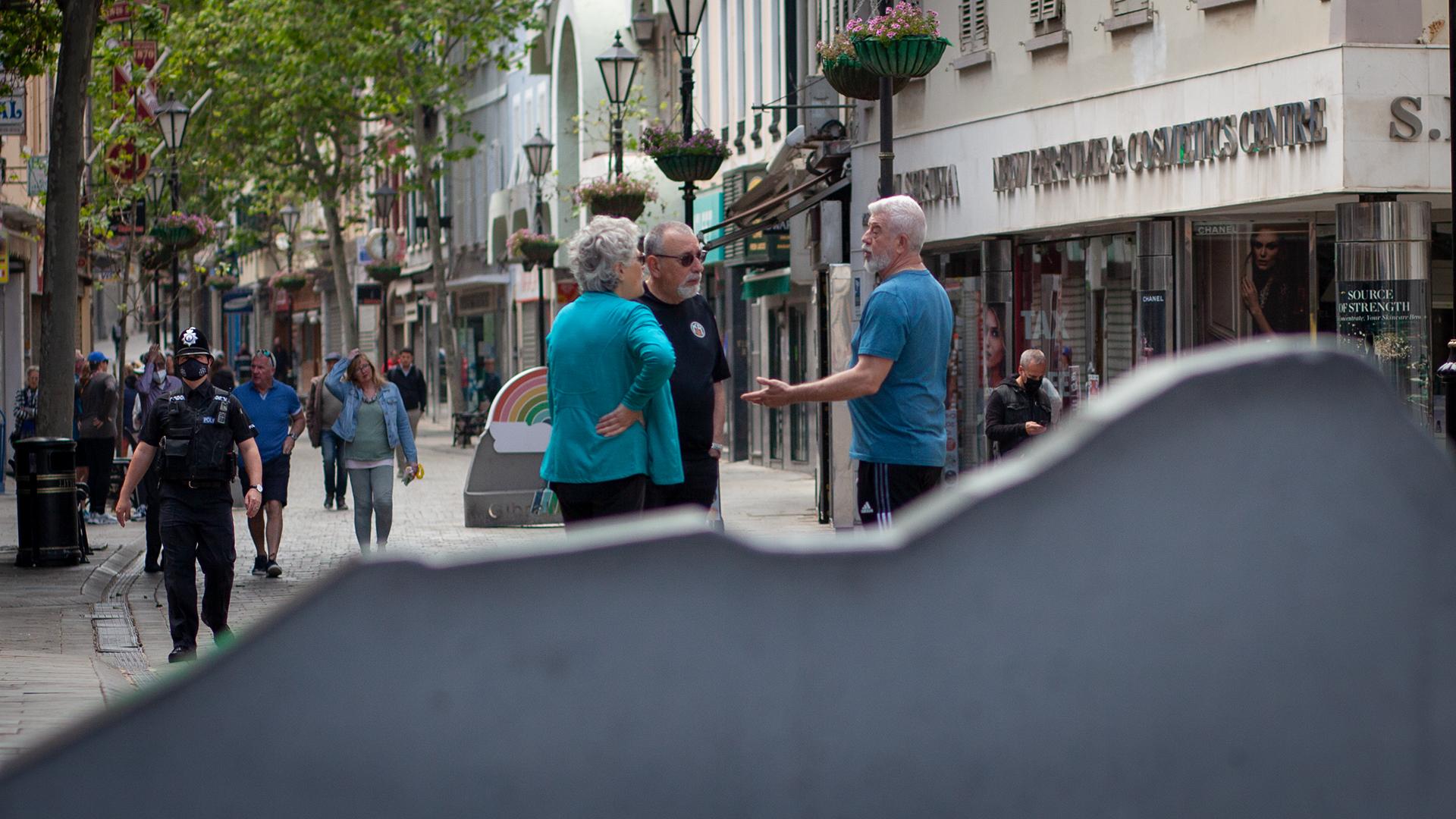 Calle de Gibraltar. Foto NG