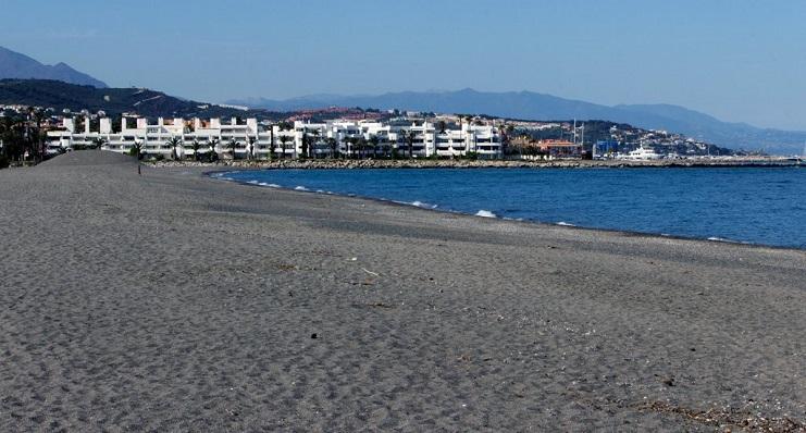Playa de Sotogrande, en el término municipal de San Roque