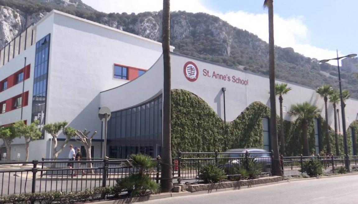 St. Anne´s School es uno de los centros afectados. Foto InfoGibraltar.