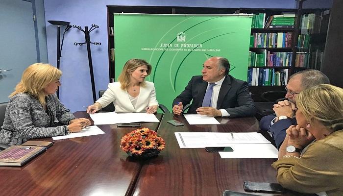 Reunión entre Ana Mestre y José Ignacio Landaluce
