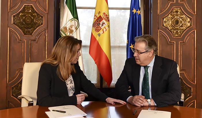 Susana Díaz y Juan Ignacio Zoido