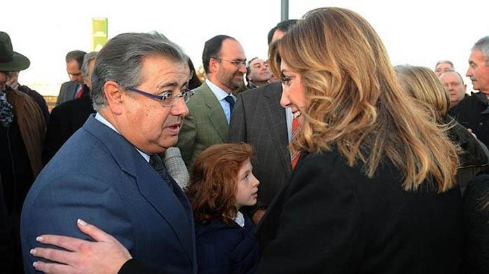 Juan Ignacio Zoido y Susana Díaz