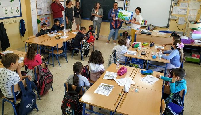 El colegio Alfonso XI de Algeciras celebra un taller medioambiental