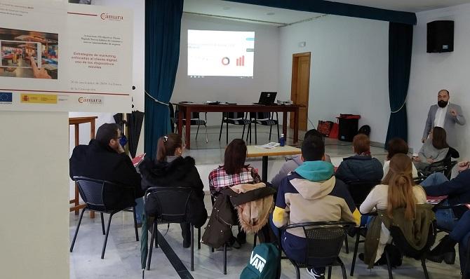 El taller estuvo organizado por la Cámara de Comercio del Campo de Gibraltar