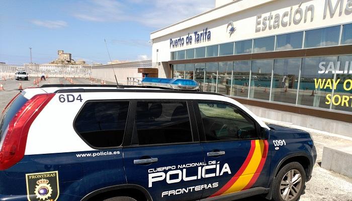 La detención se produjo en el puerto de Tarifa