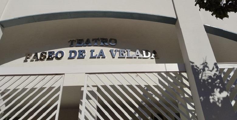 Facha del Teatro 'La Velada' de La Línea. Foto: NG
