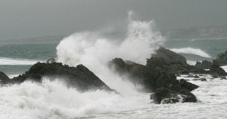 Efectos del temporal en la zona del Estrecho