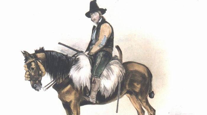El Tempranillo en un grabado de John Frederick Lewis (Londres, 1834)