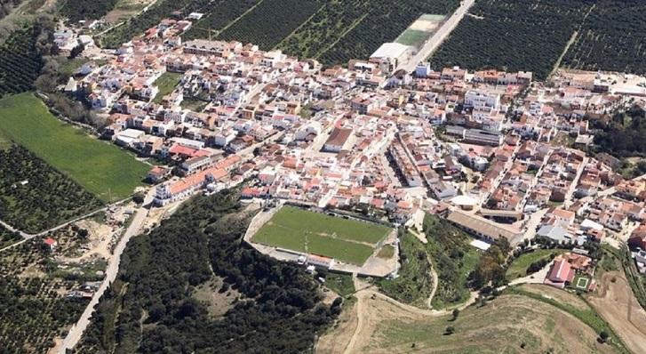 Vista aérea de San Martín del Tesorillo