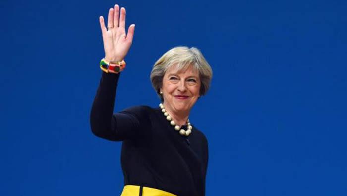 Theresa May primer ministro Reino Unido