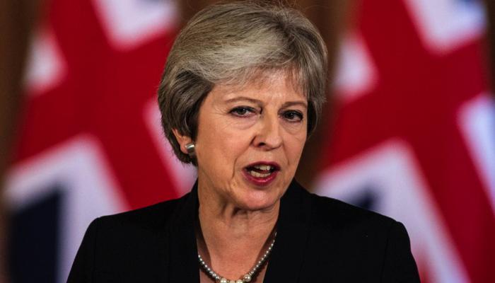 Theresa May es la primera ministra del Reino Unido