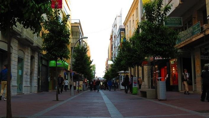 La calle Regino Martínez, una de las calles más comerciales de Algeciras