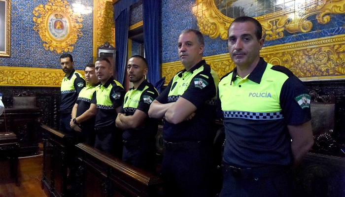 Seis nuevos agentes se incorporan a la Policía Local de Algeciras
