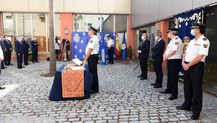 El nuevo comisario de la Policía Nacional en Algeciras jura su cargo