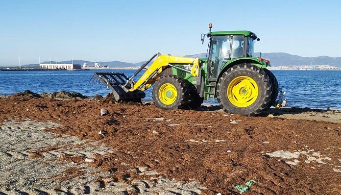 Los trabajos en las playas se han venido realizando en los últimos días