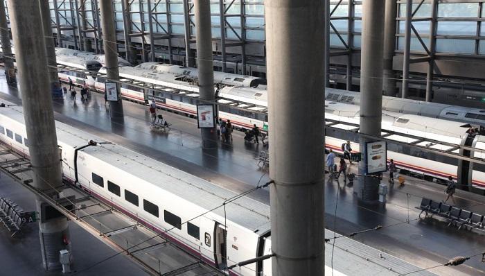 Una foto reciente de la estación de trenes de Atocha, en Madrid