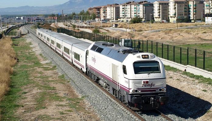 Una foto de archivo del tren que une a Algeciras con Madrid. Foto: NG