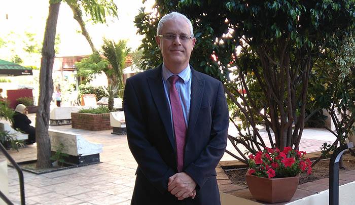 El parlamentario del GSD Trevor Hammond