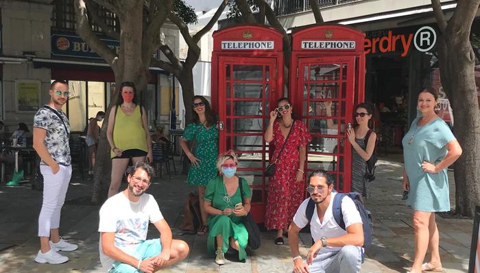 Los blogueros que participaron en la iniciativa