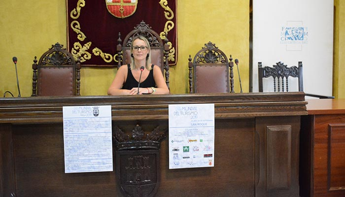 La concejal de Turismo de San Roque, Ana Ruiz