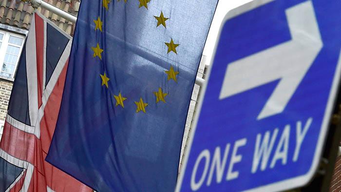 Banderas brexit camino