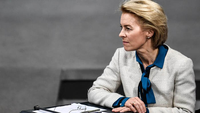 La nueva presidenta de la Comisión Europea, von der Leyen