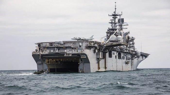 El USS Bataan, en una imagen de archivo. Foto US DoD