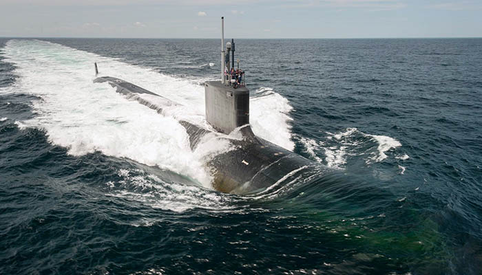 El submarino estadounidense John Warner