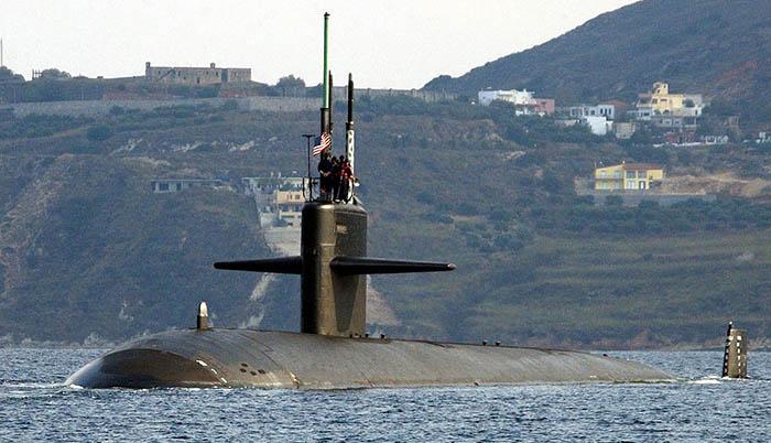 El USS Newport News SSN 750