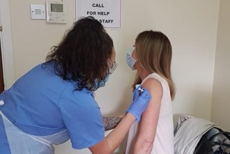 Hasta el momento se han vacunado más de 11.000 personas. Foto GHA