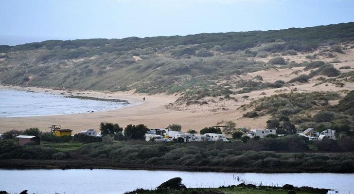 La Playa de Valdevaqueros, en Tarifa