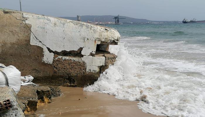Verdemar advierte de la pérdida de arena en las playas