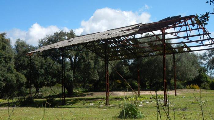 Imagen de la antigua instalación aportada por Verdemar
