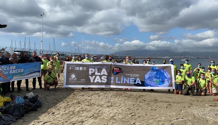 La iniciativa se ha llevado a cabo en la playa de Poniente de La Línea