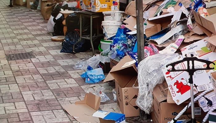 Verdemar quiere que se aborde el problema de las basuras en las calles